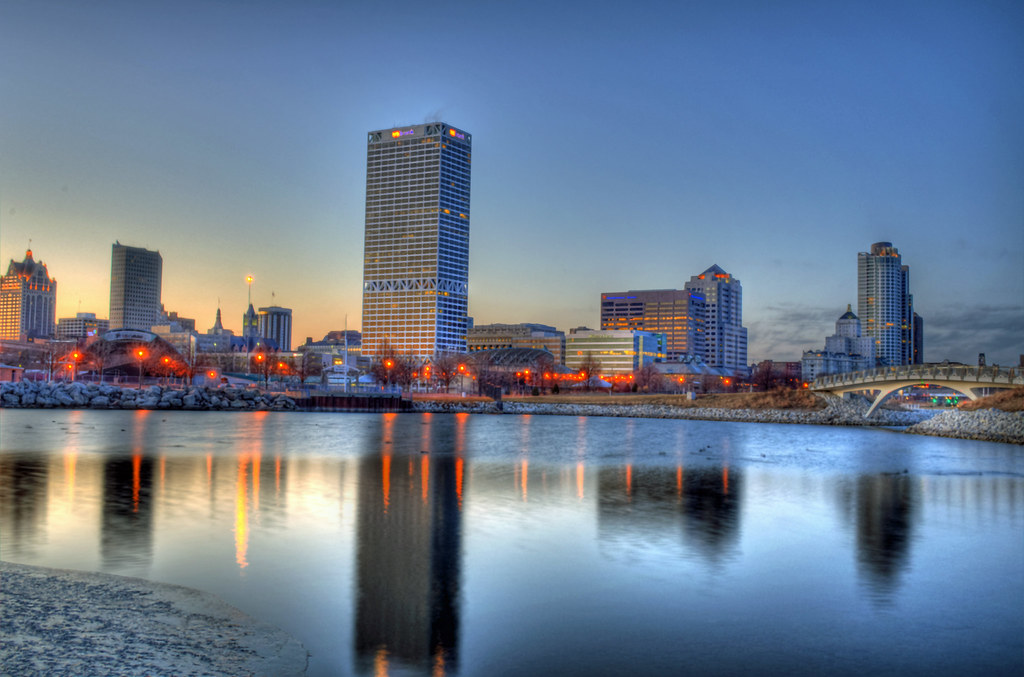 milwaukee sunset view i love this city i know a lot of