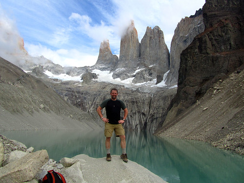 Standing before Torres del Paine | by jdroth