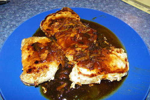 270/365/1365 (March 7, 2012) – Pork Loin Chops with Orange Curry Sauce | by cseeman