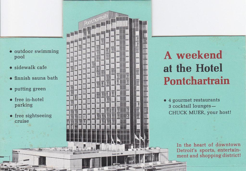 Hotel Pontchartrain Detroit Scott Weir Flickr