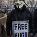 Anonymous hugs (for free!)