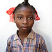 Haitian schoolgirl from Degerme, a remote village in the Grand'Anse department of Ayiti