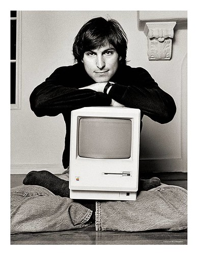 Steve Jobs 1984  Lithograph by Norman Seeff | by Photo Giddy