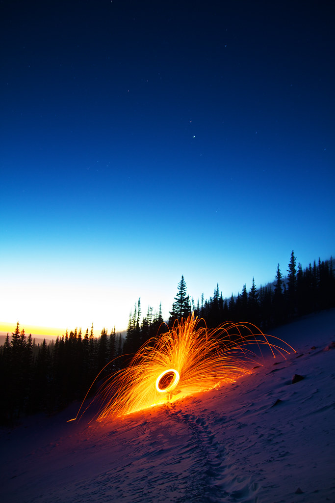 Sunrise Woolspin | Went hiking with Pierce Martin, Mike ...
