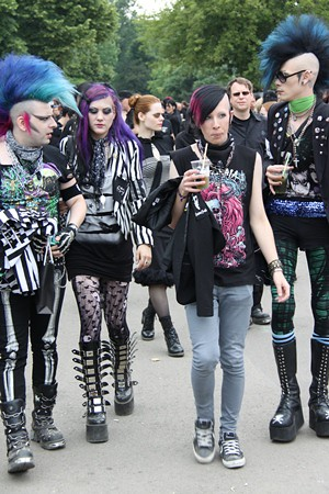 Female Punk Fashion  S