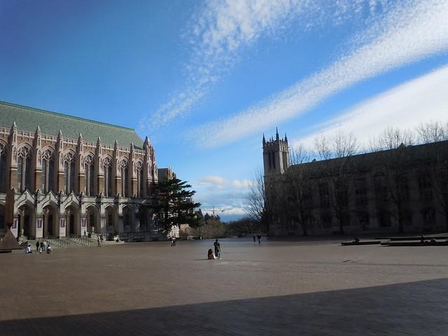 Suzzallo Library and Red Square