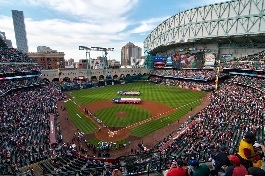 Opening Day 2012 At Minute Maid Park Dsc2630 Hdr Flickr