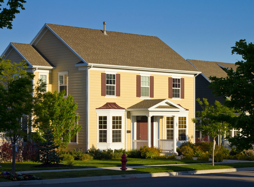 New colonial style home new house in daybreak utah 39 s for New colonial homes