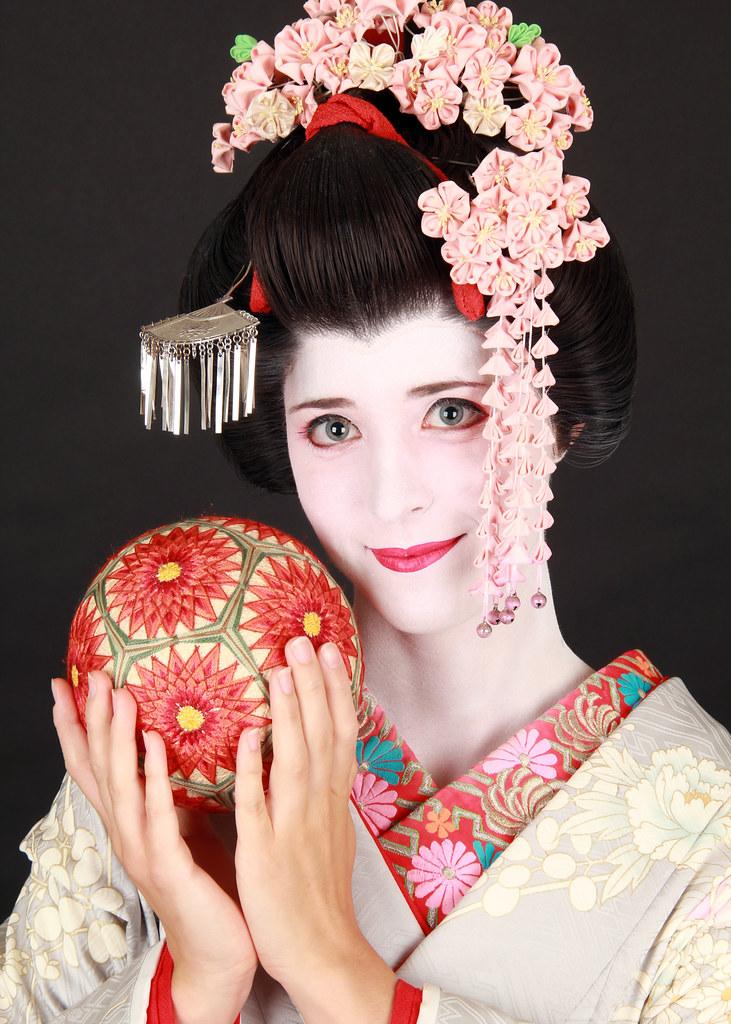 Set de fotografías de Maiko en Japón