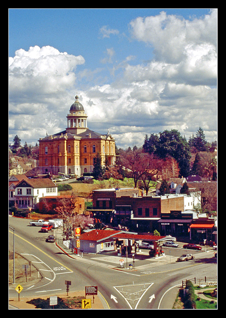 Placer County Courthouse Auburn California 2000 Flickr