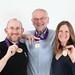 David, Gary, Alana, and Tokyo Marathon Medals