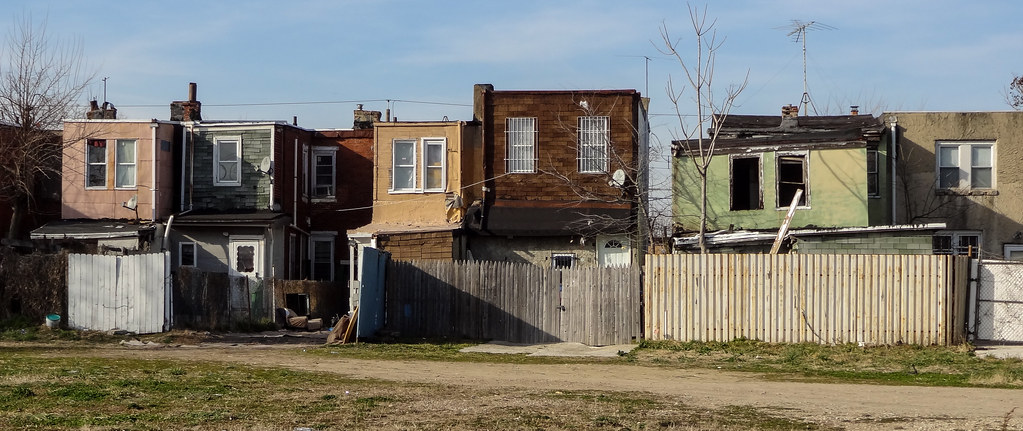 Liberty Street Row Homes In Camden Nj Between South 3rd