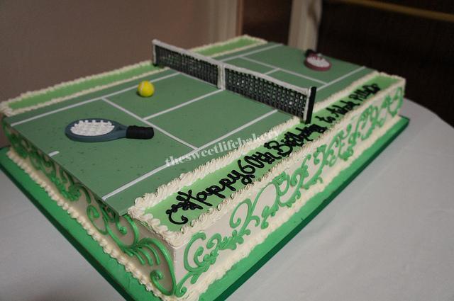 Tennis Racket Cake Images