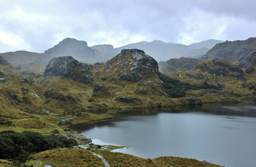how to get to cajas national park