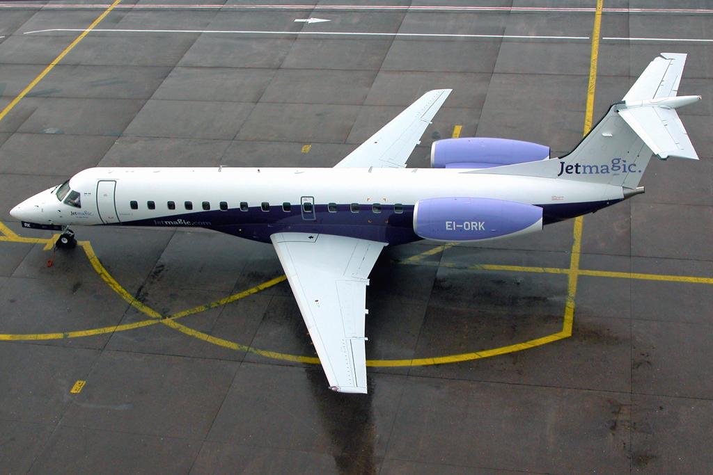 embraer erj135 ei ork jet magic seen at cork in 2003 this flickr. Black Bedroom Furniture Sets. Home Design Ideas