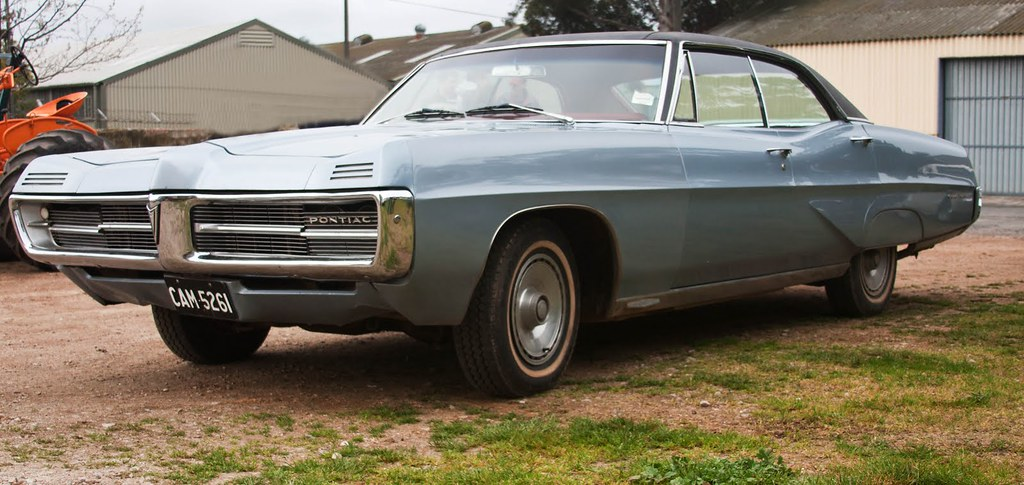 1967 Pontiac Grande Parisienne 4 Door Hardtop Built In So Flickr
