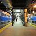 Trains at Millennium Station