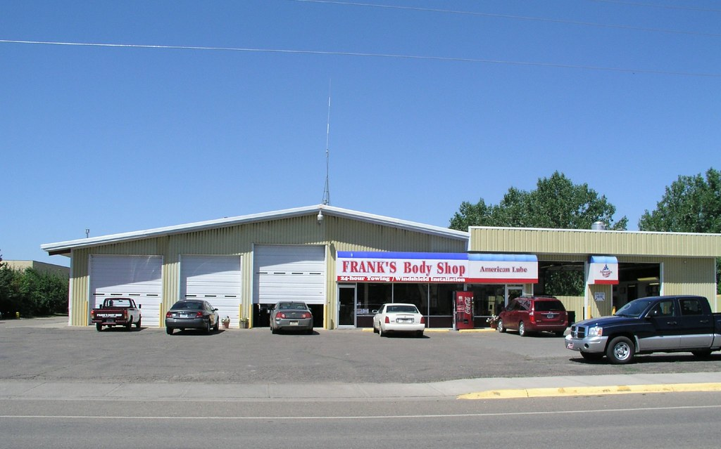 Frank 39 s body shop miles city frank 39 s body shop towing for Frank s auto body