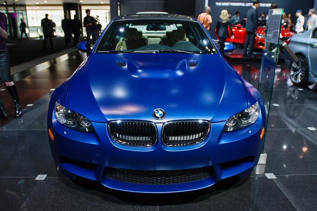Matte Blue BMW M3 | Flickr - Photo Sharing!
