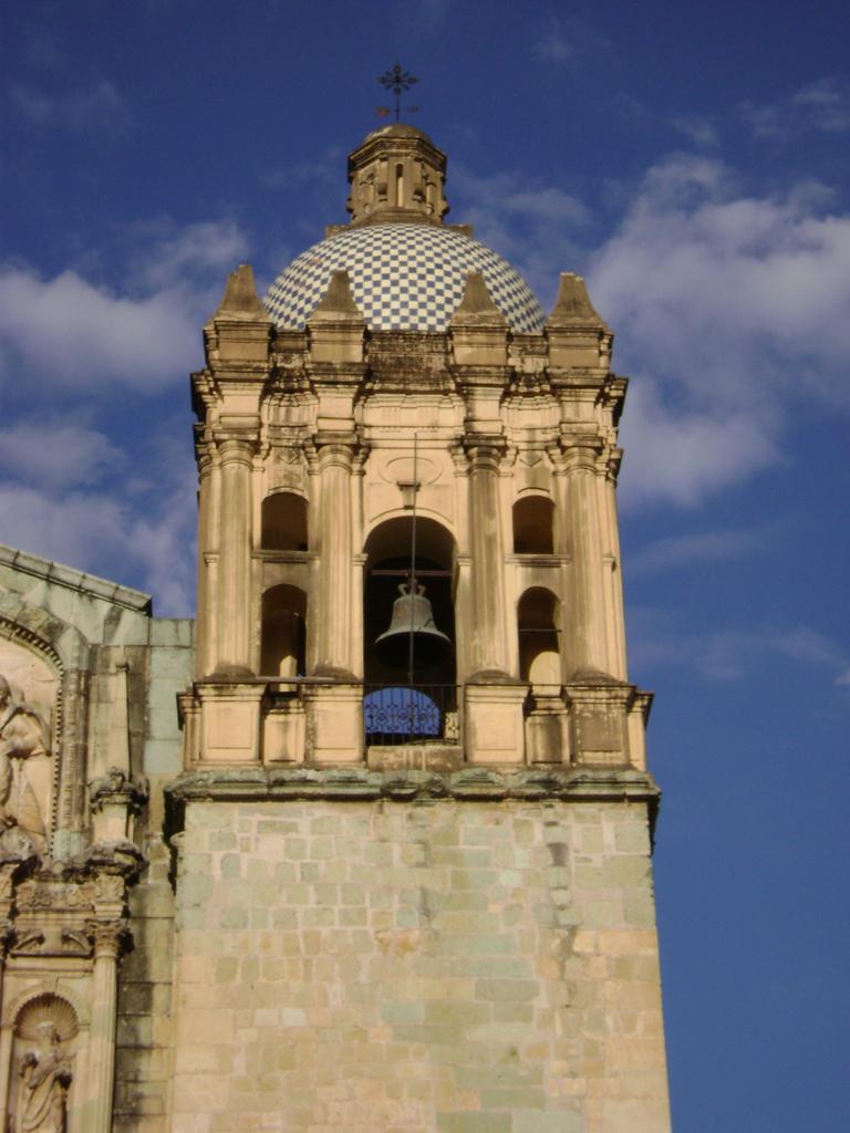6 12 126 Oaxaca Church Bell Tower Joel Fry Flickr