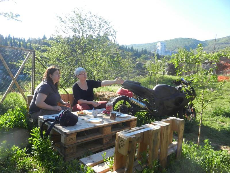 Тбилиси, завтрак