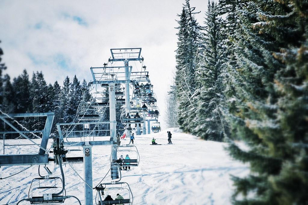 Ski Lift Somewhere In Aspen Decided To Go Back Through