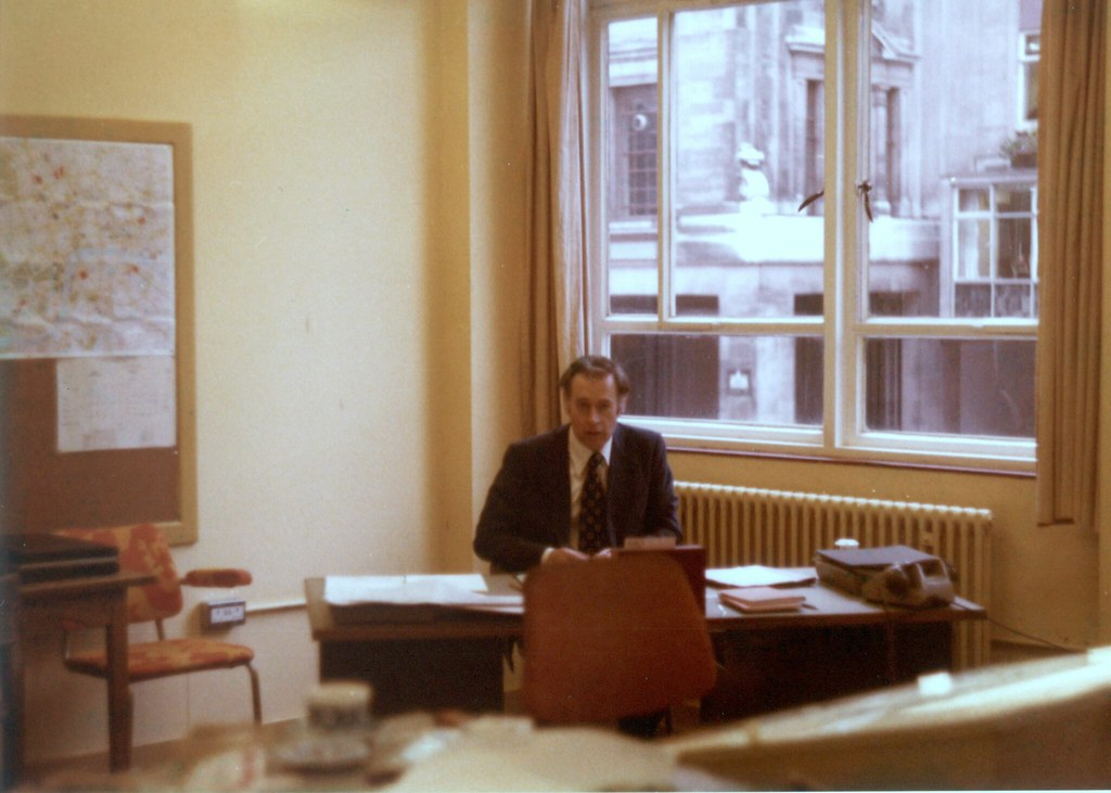 Drawing Office Manager - 1980's   2-12 Gresham Street ...