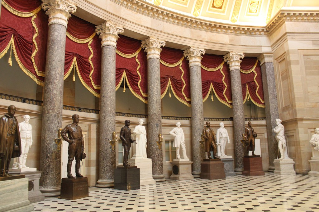 Image Gallery inside the capitol building