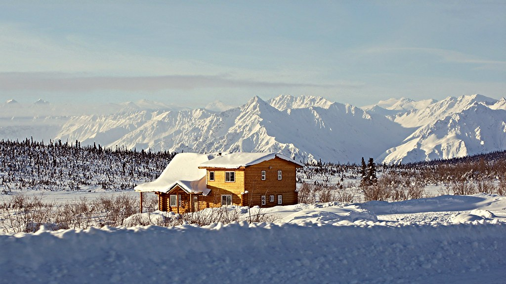 Cities In Alaska >> Wilderness Home - Alaska | No neighbors - big moose - total … | Flickr