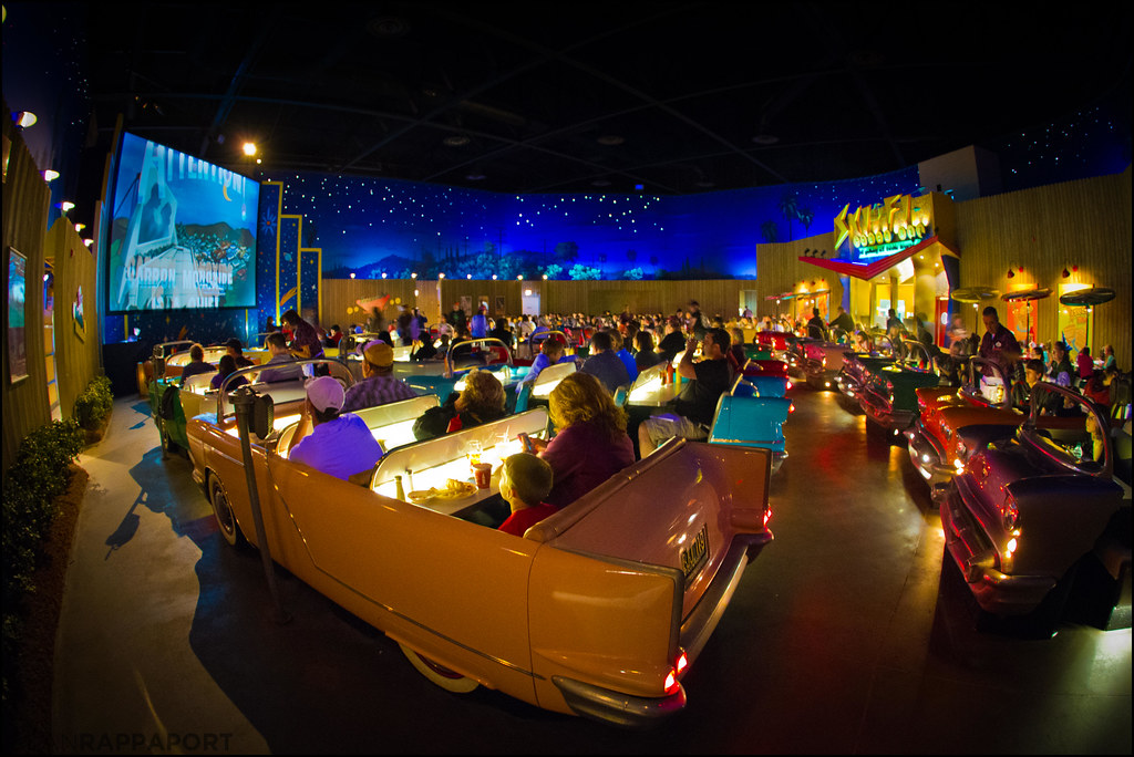 Sci Fi Dine In Theater Disney S Hollywood Studios 2012