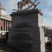 Fourth Plinth unveiling, Trafalgar Square, London. 23 Feb 2012