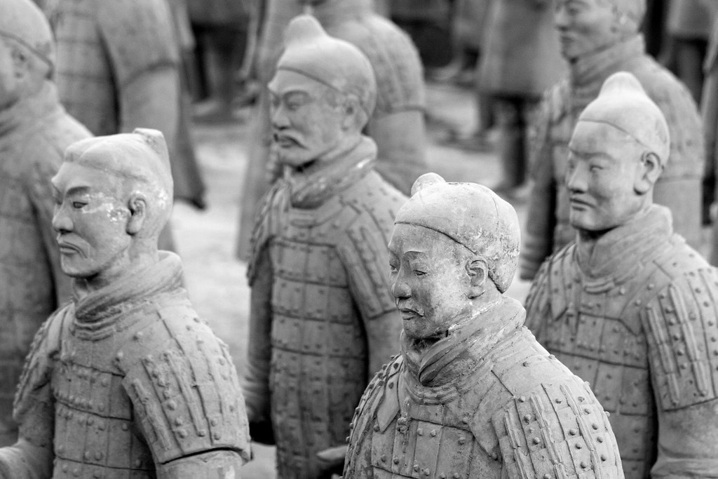 Terracotta Warriors Face of The Terracotta Warriors
