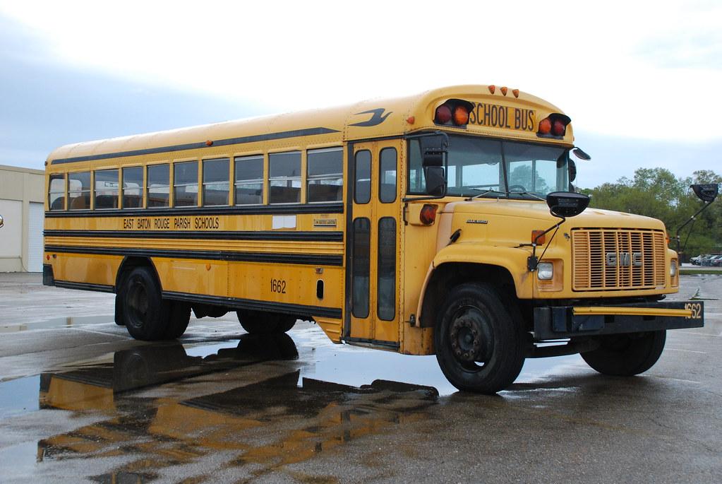 Blue Bird Bus >> Blue Bird Bus | GMC Blue Bird school bus in Baton Rouge, LA.… | So Cal Metro | Flickr