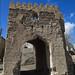 Old gate in Ibra, Oman