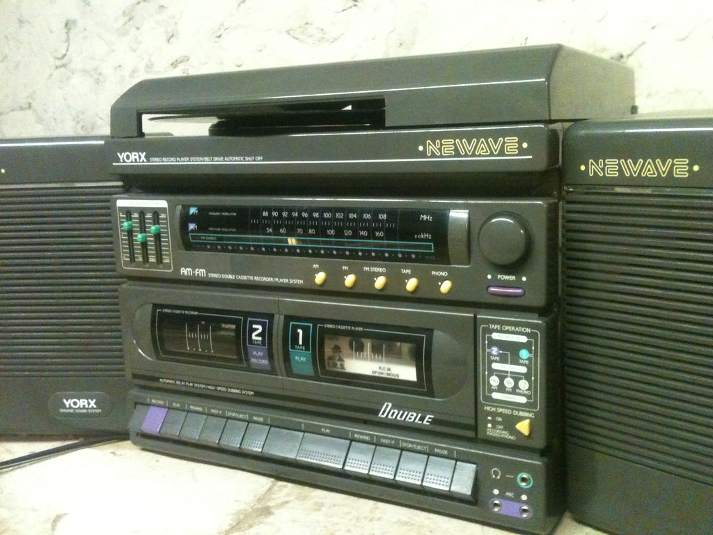 Yorx Newave Stereo 1988 This Stereo Was Had For 3 00