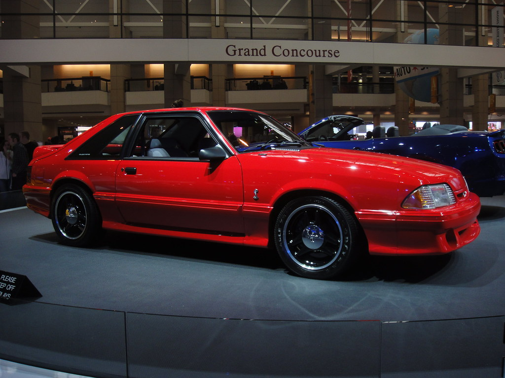 2012 Chicago Auto Show 1992 Ford Mustang Svt Cobra R