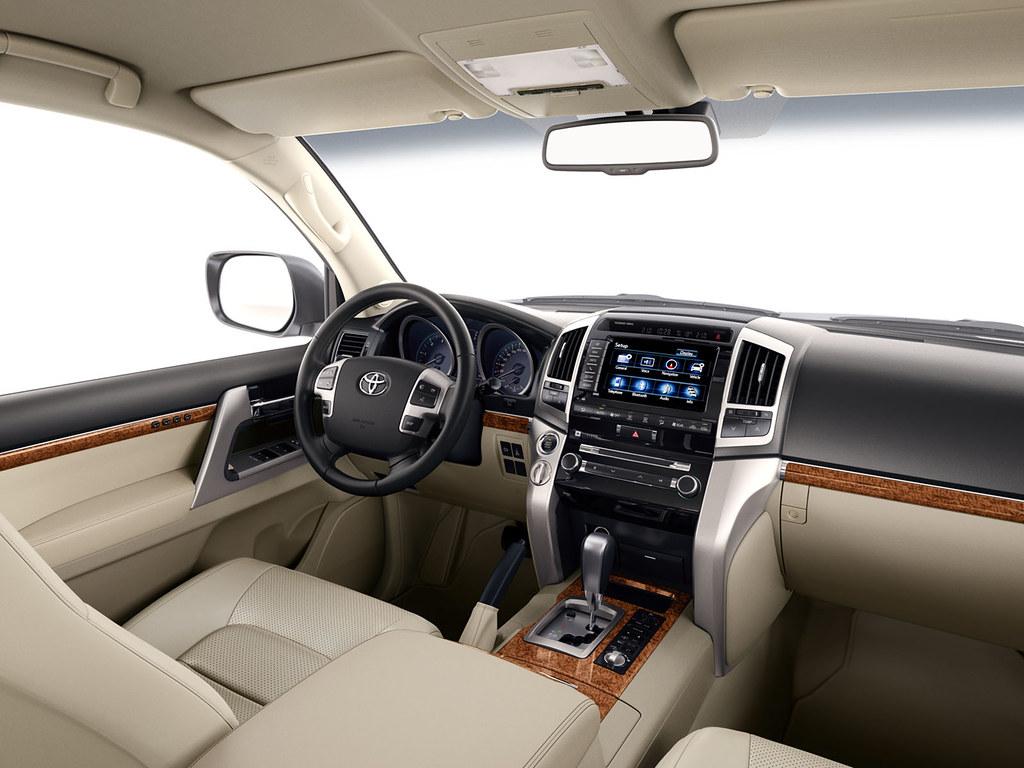 Toyota Land Cruiser V8 2012 Interior Toyota Motor Europe