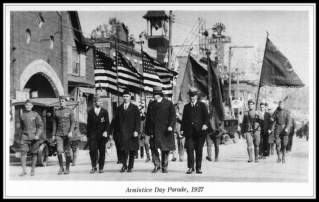 Armistice Day Parade - Hammonton, New Jersey U.S.A. - 1927