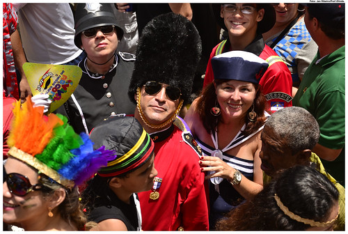 A criatividade e irreverência marcam as fantasias que passam pelo carnaval de Olinda. – Foto: JanRibeiro/Pref.Olinda