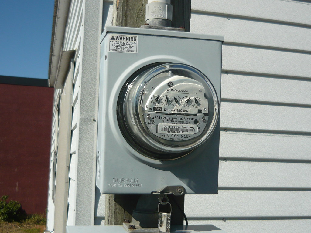 Ge Meter Reader : Ge meter a dial with itron module for radio