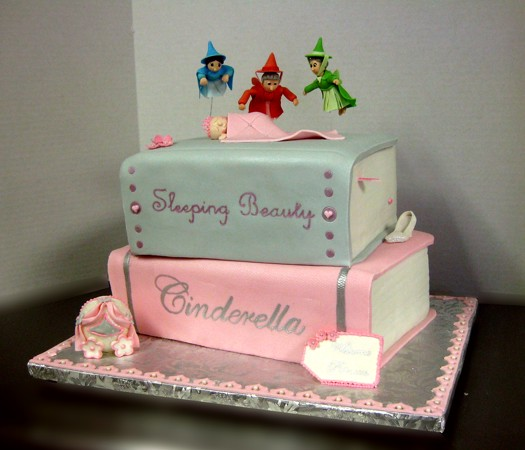 Free Cake Design Books : Princess Fairy Tale Baby Shower Cake pastryqueen62 Flickr