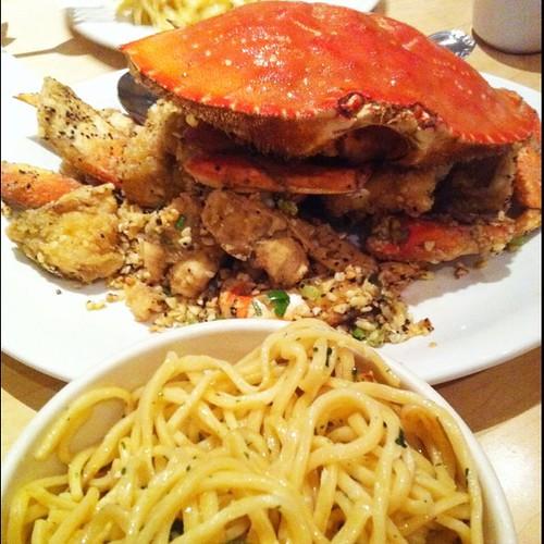 Garlic Noodles Garlic Crab Garlic Noodles