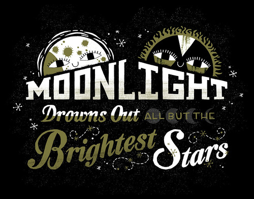 Moonlight Drowns Out All But the Brightest Stars | by Alyssa Nassner