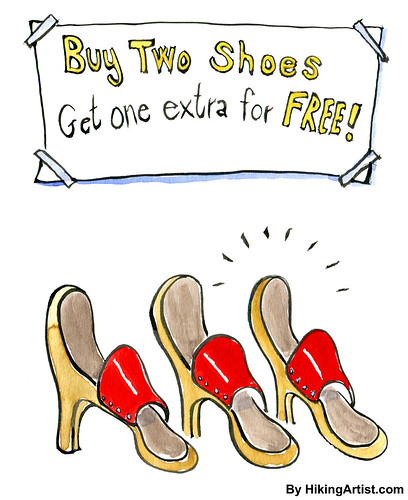 Buy two shoes get one extra free | by HikingArtist.com