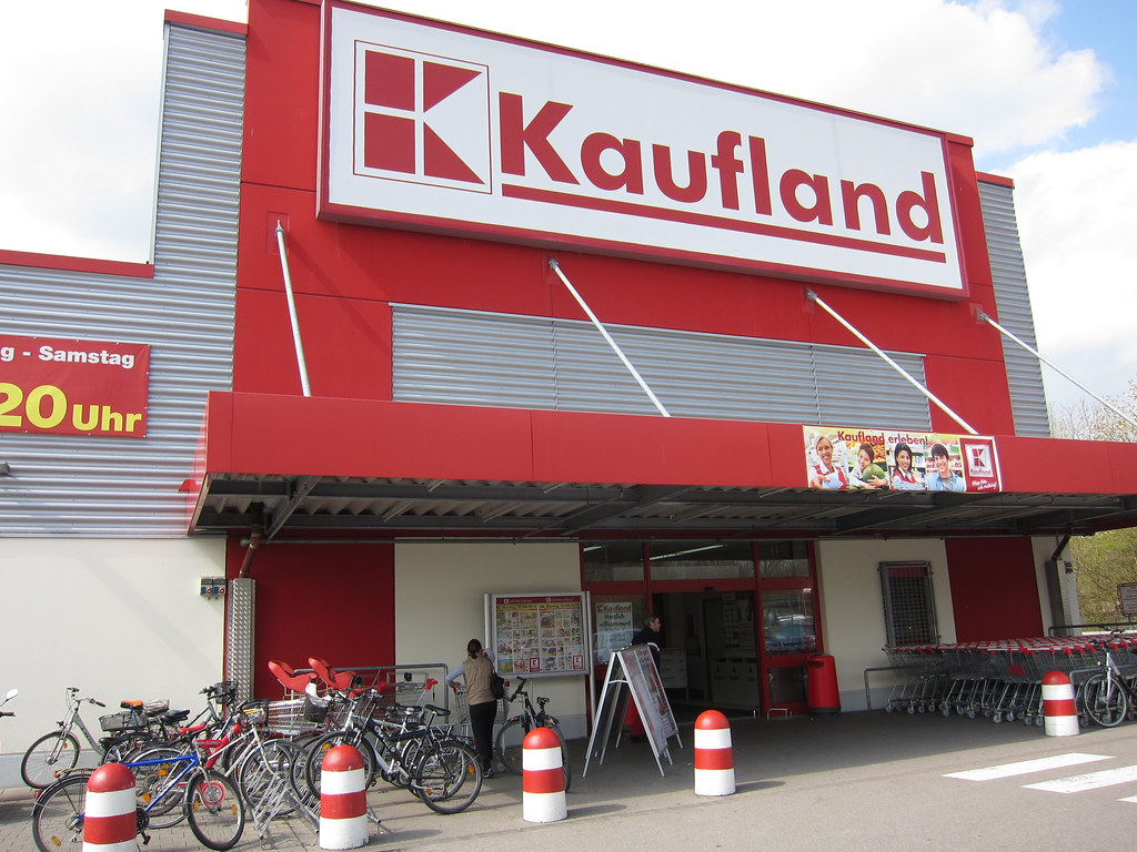 kaufland grocery store in munich germany phil windley flickr. Black Bedroom Furniture Sets. Home Design Ideas