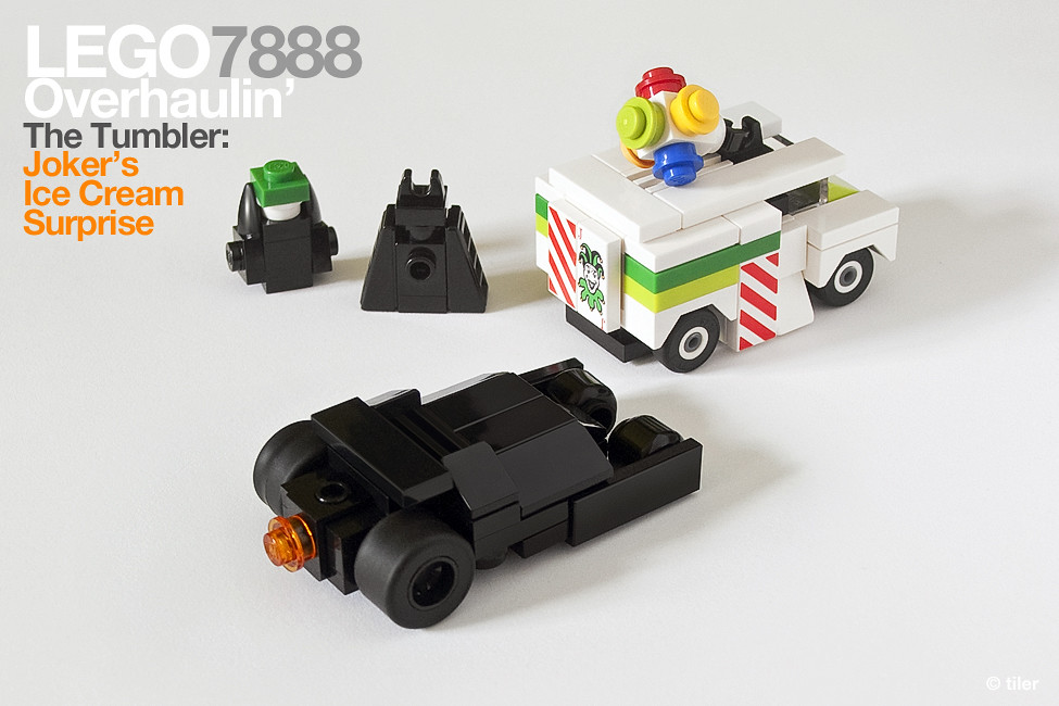 Lego 7888 Pocket Edition The Tumbler Joker 39 S Micro Ic