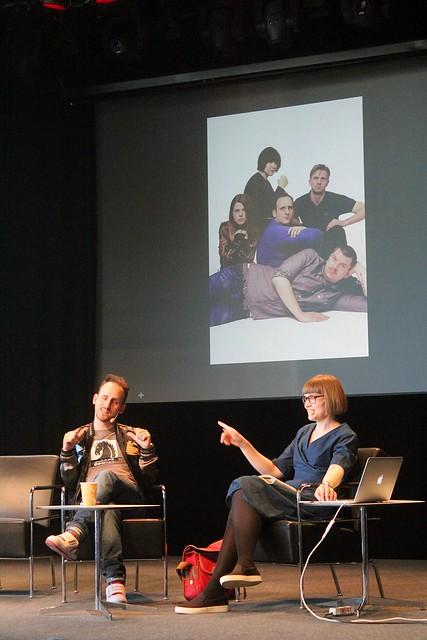 Kim W. Andersson & Sara Bergmark Elfgren.