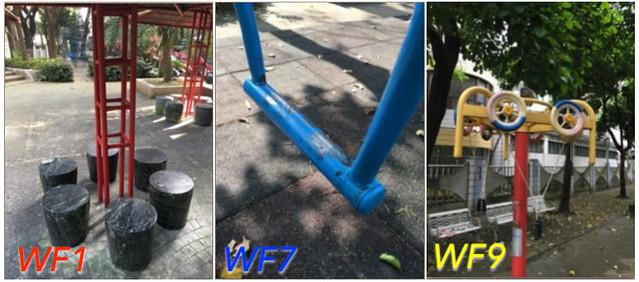 公園的遊憩與欄杆設施暗藏油漆鉛含量超標問題 圖片來源:看守台灣協會