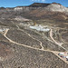 An aerial photo of the field site at the Nevada Nuclear Security Site. Photo courtesy of NSTec.