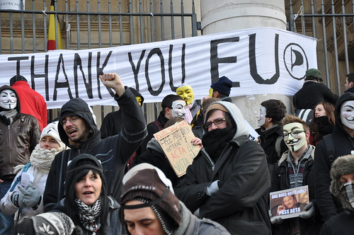 ACTA-Thank You EU | by hermapixel